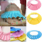 Soft Cool Cute Baby Kids Adjustable Bathing Shower Cap Hat Wash Hair Shield