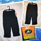 ATHLETECH Boys / Unisex Black Or Gray Ski Snowboard Snow Pants Outerwear M(8)