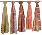 25 Pc Lot Vintage Kantha Handmade Scarf Fashion Bandana Assorted Cotton Stole