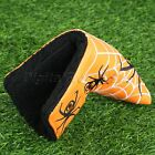 High Quality Spider & Web Golf Putter Cover Headcover PU Leather Golf Accessory