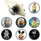 Minions Finger Grip Strap Expanding Universal Pop Out Phone Holder Stand