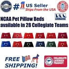 NCAA Soft & Cozy Plush Pillow Pet Bed Mattress for DOGS & CATS. Premium Quality!