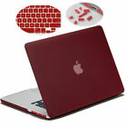 Hard Shell Case Keyboard Cover Anti-Dust Port for MacBook Pro 15 Retina A1398