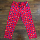 $38 NWT Polo Ralph Lauren Mens Red Bear Pajama Pants Lightweight Flannel Cotton