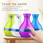 USB tense Aroma Essential Oil Diffuser Ultrasonic Air Humidifier Wood in Home