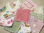 Reusable Make Up Remover Pads X 10 100% Cotton Pink Florals Lots Of Styles!