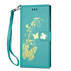 Pattern Card Slots Flip Stand Magnetic Wallet Leather Case Cover For Various