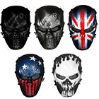 Skull Skeleton Full Face Protective Mask Gear For Airsoft/BB Gun/ CS Party