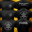 Rare Vatican Guardia Svizzera Swiss Guard Roman Catholic Pope Security T-shirt image