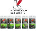Внешний вид - Tungsten Nail Weights - Multiple Sizes Available - Bass Fishing Kenders Outdoors