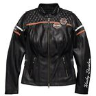 98030-18EW HARLEY-DAVIDSON WOMEN'S MISS ENTHUSIAST CE LEATHER JACKET    *NEW*