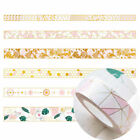 NEW DIY Floral Washi Sticker Decor Roll Paper Masking Adhesive Tape Crafts Gifts on eBay
