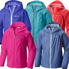 """New Girls Columbia """"Switchback"""" Water-Resistant Reflective Rain Jacket S-M-L-XL"""