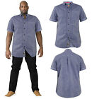 Duke D555 Mens Big King Size Jericho Cotton Casual Summer Short Sleeved Shirts