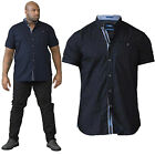 Duke D555 Mens Big King Size Republic Cotton Casual Summer Short Sleeved Shirts
