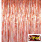 Rose Gold Fringe Curtain Balloons Paper Tassels Confetti Party Birthday Wedding
