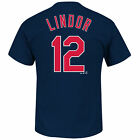 Francisco Lindor Cleveland Indians MLB Majestic Player Men T Shirt on Ebay