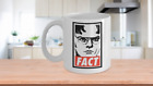 Dwight Schrute FACT Coffee Mug Cup - The Office TV Show Gift Merchandise