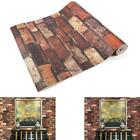 wallpaper for decorating walls - Retro Brick Stone 3D Wallpaper For Room PVC Wall Paper roll Background Decor