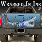 Tailgate Wrap A Shark Tank in your Truck Bed! Vinyl Graphics for Truck or Wall