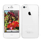 Apple iPhone 5/4S Smartphone 16GB 32GB 64GB  White Black Silver Unlocked Top UK