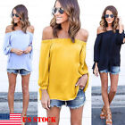 party blouses for women - Women's Sexy Summer Off Shoulder Tops Casual Party Shirt Cotton Denim Blouse