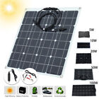 100w solar panel for sale - 10/50/100W 5V 12V Monocrystalline Solar Charger Panel  RV Motorhome Boats Sale