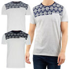 Brave Soul Mens Davon T Shirt Printed Short Sleeved Casual Summer Tee Tops