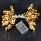 Ramadan and Eid Multicolored Decorations Fairy Lights Gold & Silver LED Lights