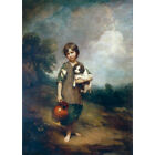 Cottage Girl with a Dog and Pitcher - Gainsborough Medici Print