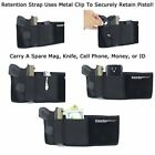Belly Band Gun Holster Pistol Magazine Waist Pouch Concealed Carry Holder Pocket