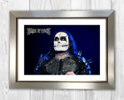 Dani Filth Cradle of Filth. A4 picture photograph poster. Choice of frame.