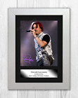 Tony Kakko Sonata Arctica A4 signed mounted photograph poster. Choice of frame.