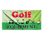Golf Equipment Outdoor Advertising Printing Vinyl Banner Sign With Grommets