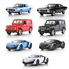 1:32 Aolly Diecast Metal Model Car Sound and Light Pull-back Vehicle Toy Gifts