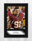 Ryan Kerrigan (1) A4 signed mounted photograph picture poster. Choice of frame.