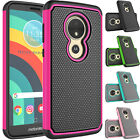 For Motorola Moto E5/GO/Play/Plus/Cruise/Supra Hybrid Phone Hard Case Cover Skin