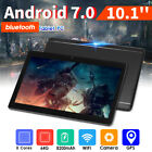 10.1'' 64GB 4G Android 7.0 Tablet PC Core 8 HD WIFI bluetooth 2 SIM Bundle Cover