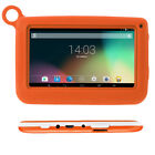 """New version 7"""" Google Android Tablet Bundle Case Dual Camera Wifi for Kids Gift"""