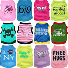 Pet Clothes Puppy Small Dog Cat Vest T Shirt Coat Pullover Jacket Summer Apparel
