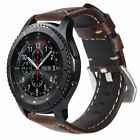 Cowhide Genuine Leather Strap Bands for Samsung Gear S3 Frontier/Gear S3 Classic image