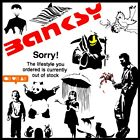 Wall Sticker Banksy Multi-listing Highest Quality Vinyl Home Decor Art Decal UK
