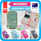 Travel Wallet Passport Holder Card Pouch Bag iPhone 5S Case Wristlet Strap +Tag