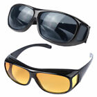 Fit Over Sunglasses Cover Glasses For Driving Fishing Golf  Lot of 1,2,4,10