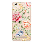 Printing Flower Pattern Soft TPU Phone Case Cover For Xiaomi Redmi 4X 5X Note4