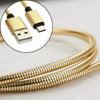 1 x Zinc Alloy Stainless Steel Cable-2.4A Current High Speed Slash Charge&Data