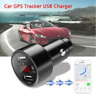 Car GPS Tracker Locator Tracking Device Dual USB Charger Power Adapter Voltmeter