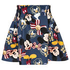Monnalisa Skirt Gonna Teli Mickey Size 122,128, 140 New wi 18/19