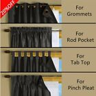 ComforHome Blackout Liner for Window Curtain Multi-Use for different Window