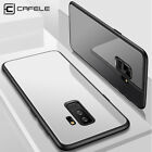 CAFELE TPU+PC Transparent Back Cover Skin for Samsung Galaxy S9 Plus Phone Case